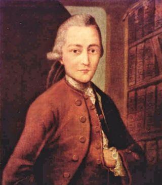 De jonge Goethe - Anton Johann Kern