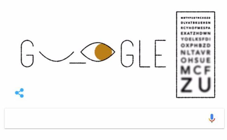Doodle ter ere van Ferdinand Monoyer