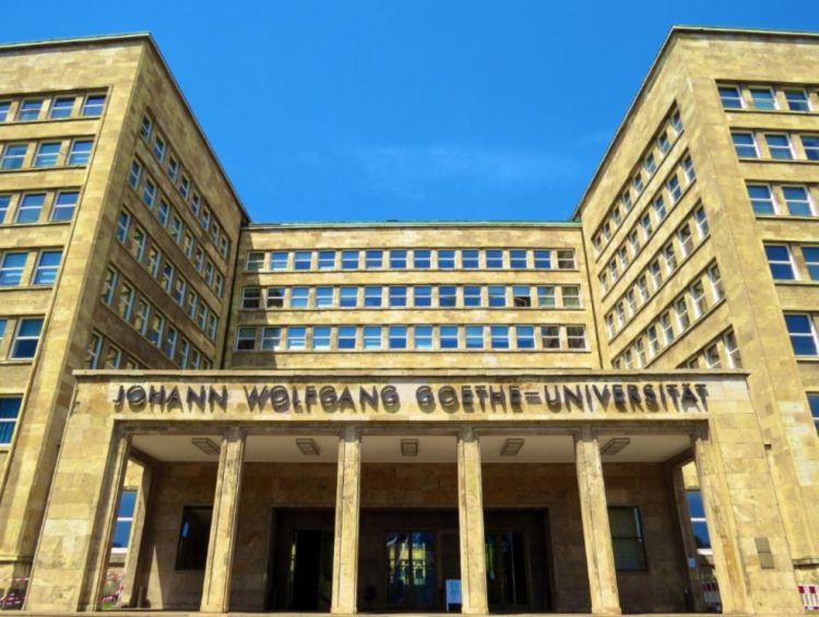 Goethe Universiteit in Frankfurt am Main - cc