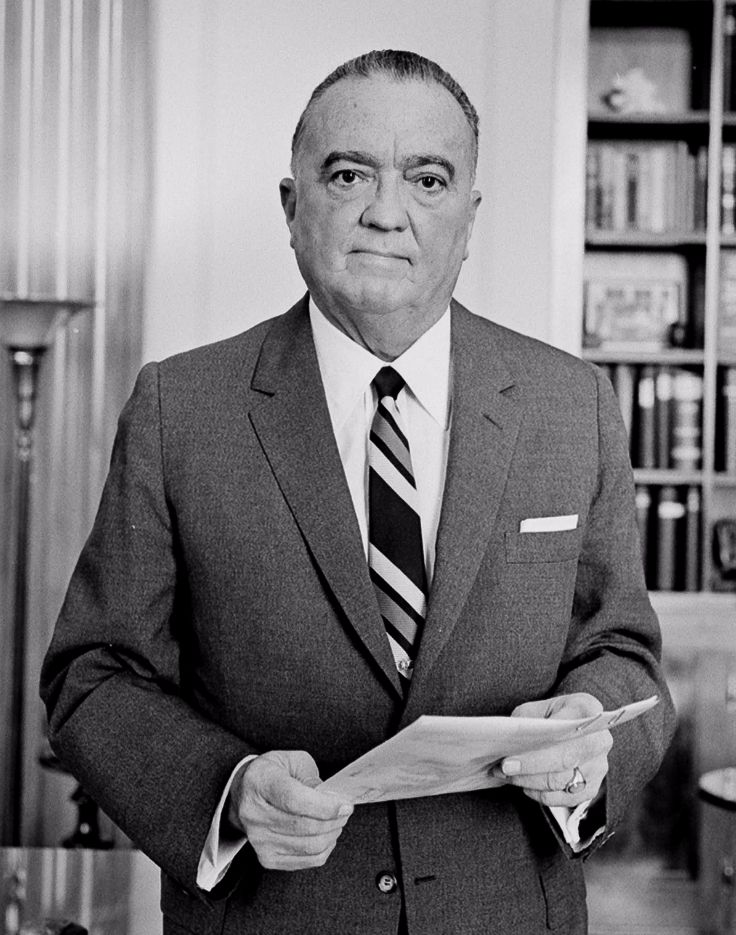 J. Edgar Hoover in 1961 - cc