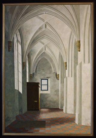 Zuidbeuk van de kerk te Loppersum (Henk Helmantel, 1969)