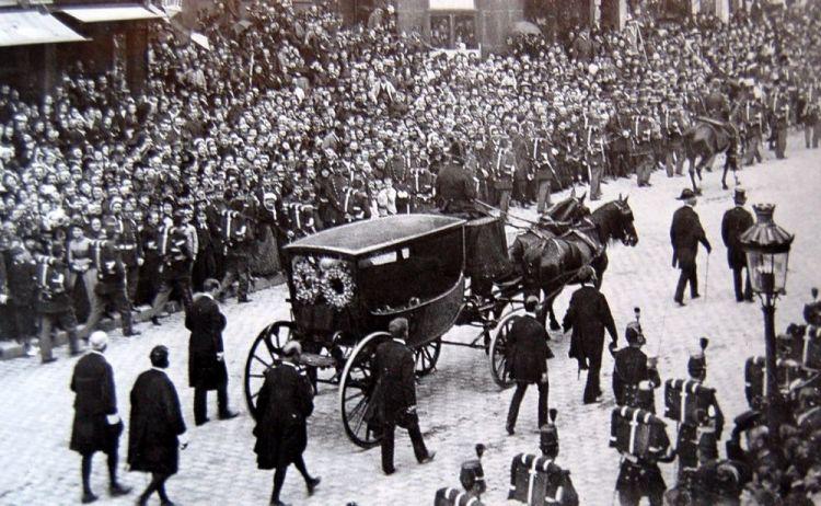 Begrafenis van Victor Hugo (1885)
