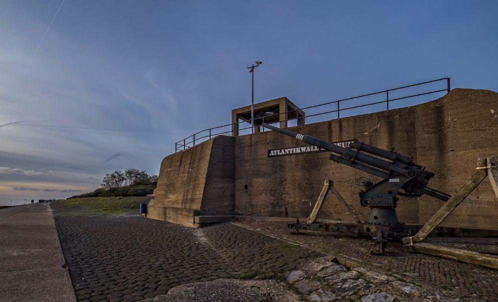 Geschutsbunker - Nieuwe Waterweg - Hoek van Holland (cc - Frans Berkelaar)