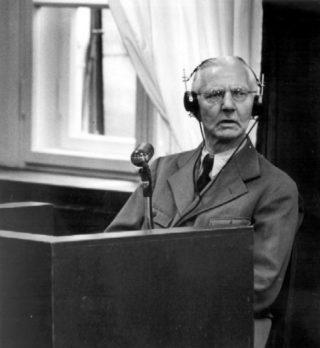 Hjalmar Schacht in 1947