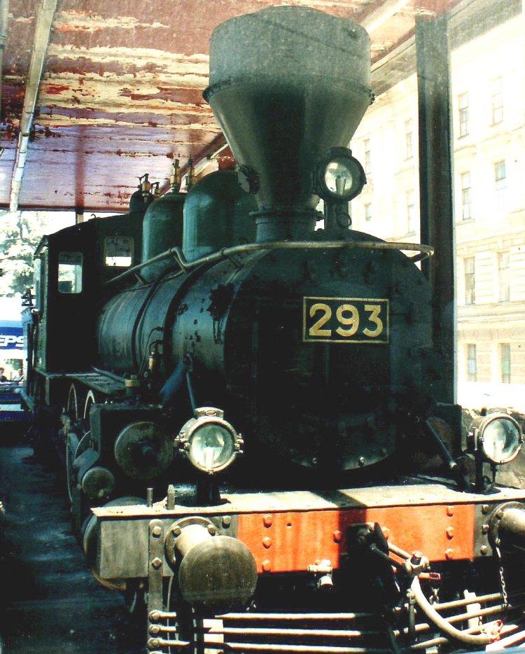 De locomotief die de treinwagon  trok waarmee Lenin terugkeerde naar Rusland - cc