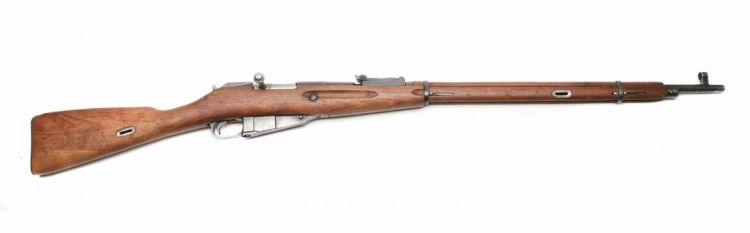 Model van de M1891 - cc