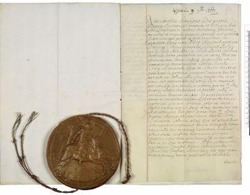 Slotpagina van de Vrede van Breda (cc - Nationaal Archief)