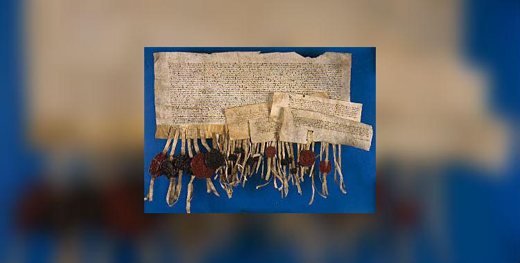 Stichtse Landbrief (1375) - 'De grondwet van Utrecht' (bron: Het Utrechts Archief)