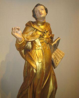 Zeventiende-eeuws sculptuur van Thomas van Aquino - cc