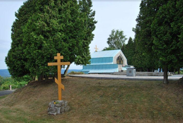 Het mausoleum in Jindřichovice, juni 2014 (John Stienen)