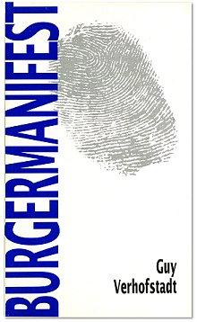 Guy Verhofstadt publiceerde zijn eerste Burgermanifest in 1991. (Liberaal Archief Gent)