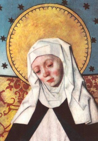 Afbeelding van Birgitta van Zweden in de kerk van Salem in Södermanland (Zweden) - wiki