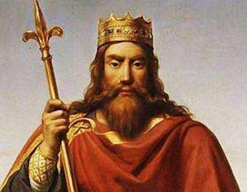 Clovis I, de eerste koning der Franken