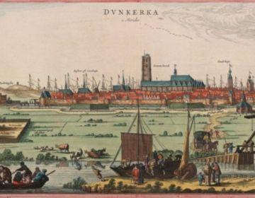 Duinkerken in 1641 (Flandria Illustrata)