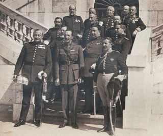 Koning Alfons XIII en het Militair Directoraat