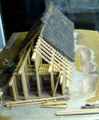 Model van een bandkeramische boederij (Archeologisch Museum Kelheim – cc)