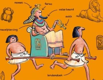 Professor Kleinbrein - De Egyptenaren