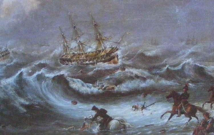 De Abercrombie Robinson en de Waterloo in de Tafelbaai (onbekend)