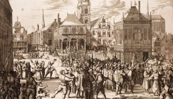 Alteratie van Amsterdam, in P.C. Hooft en Geeraert Brandt's 'Nederlandsche historien'