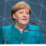 Angela Merkel bij International Maritime Organization. Bron: cc/IMO