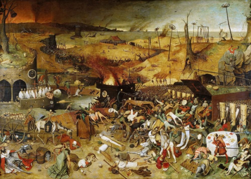 Triomf van de dood - Pieter Bruegel de Oude, 1562 (Prado)