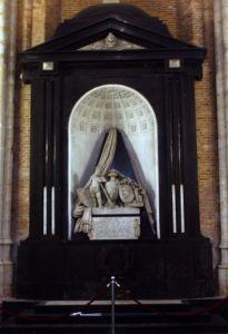 Grafmonument voor Hugo de Groot in de Nieuwe Kerk in Delft (cc)