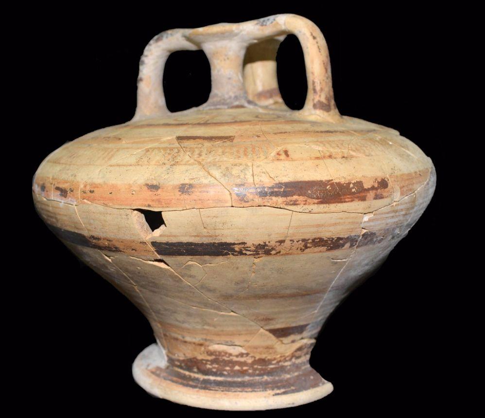 Aardewerken pot (Ministerie van Cultuur van Griekenland)