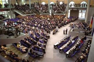 De Plenarsaal van de Bondsdag - wiki