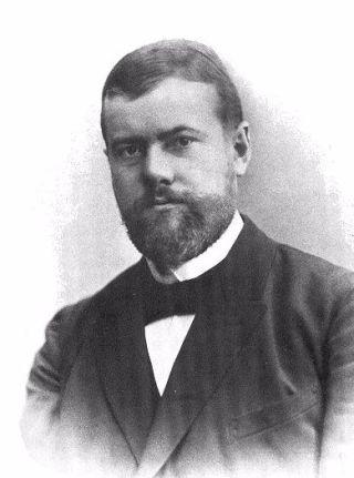 Max Weber in 1894