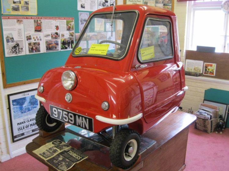 De wagen in een Brits museum (cc)