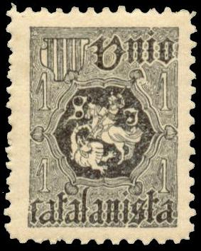 Postzegel van de Unió Catalanista uitl 1899