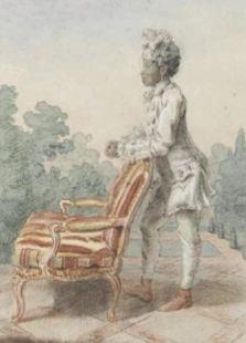 Louis Carrogis Carmontelle, Auguste, jonge 'Moor' van de hertogin, 1770.