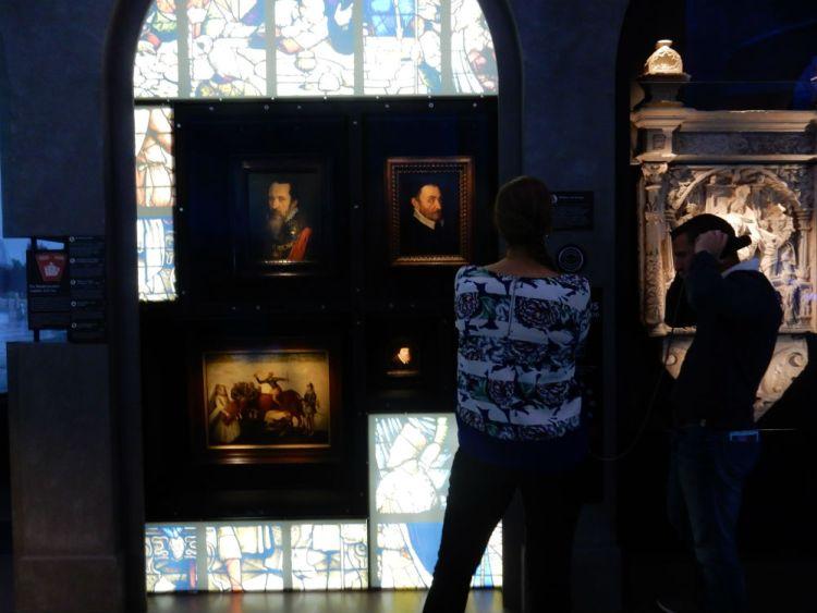 Kamer over de Tachtigjarige Oorlog waar het Wilhelmus in oorspronkelijke temp te beluisteren is (Historiek)