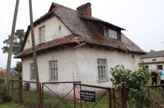 De commandantantswoning van Belzec