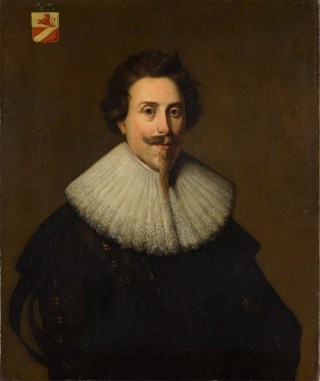 Willem Backer, door een onbekende schilder