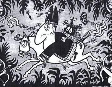 Zwarte Piet in spotprenten (1871-2017)