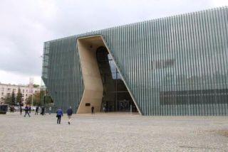 Ingang van het Polin-museum