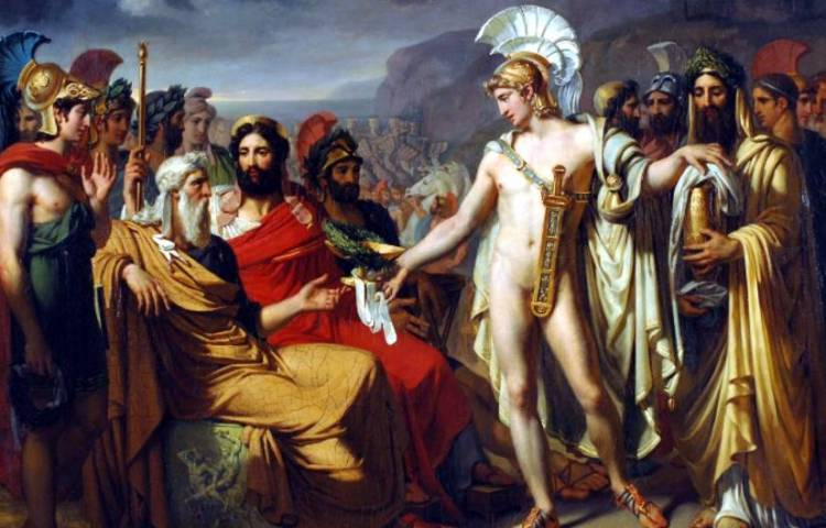 Achilles en Nestor (Joseph-Désiré Court)