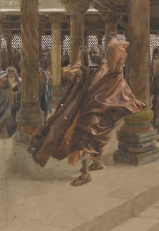 Judas brengt het geld terug (James Tissot)