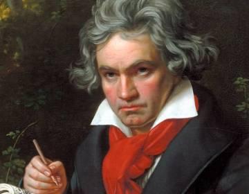 Ludwig van Beethoven, portret door Joseph Karl Stieler, 1820