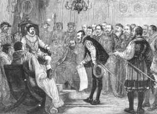 Overhandiging van de Augsburgse belijdenis