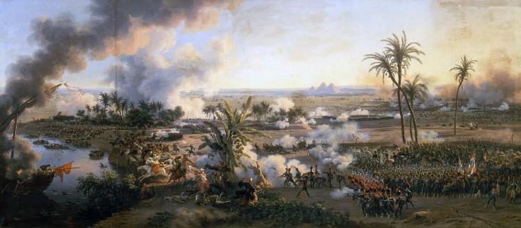 Geen maatschappij kon vooruitkomen met een met speren bewapend leger. Dat was de les van de Slag bij de Piramiden in 1798, toen Napoleons invasieleger bij Caïro de strijd aanging met de Egyptische mammelukken. Na amper een uur waren de verdedigers verslagen door een geïntegreerd modern leger dat, in carrés opgesteld, met kanonnen op hen schoot.