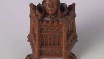 De gebeeldhouwde inktpot (Foto Rijksmuseum)