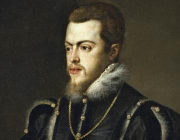 Filips II portret Titiaan