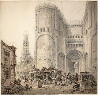 Caïro in de achttiende eeuw door Louis-François Cassas