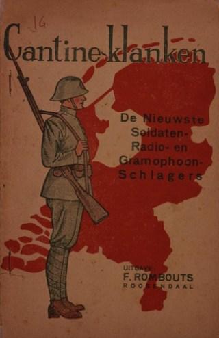 'Bladmuziek met soldatenliederen uit de mobilisatietijd (1939-1940)' (Bron: Beeldbank WO2, Collectie NIOD, beeldnr: 210457)