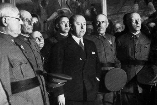 Benoeming van Gil-Robles tot minister van Oorlog in 1935