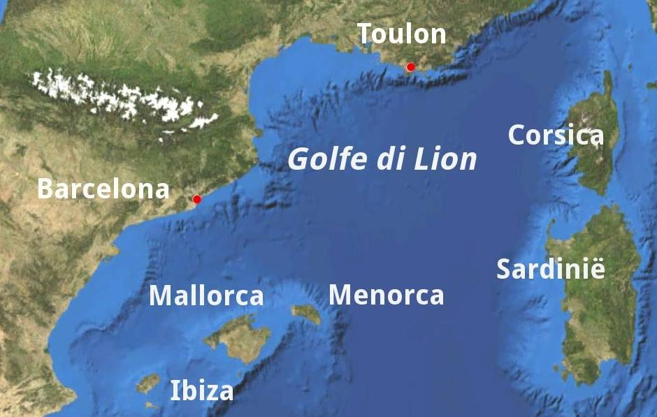 Golfe di Lion