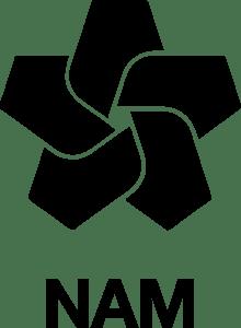 Logo van de NAM