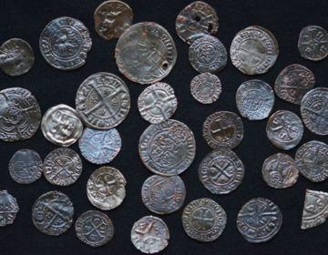 Aantal van de gevonden munten in de Sint Walburgiskerk (Gemeente Zutphen)